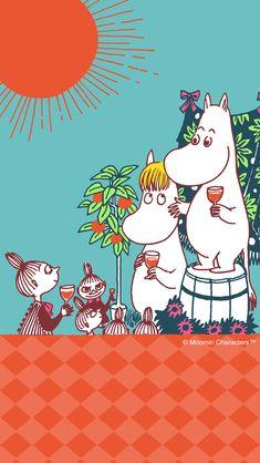 Moomin Wallpaper, Iphone Wallpaper, Moomin House, Moomin Valley, Cartoon Photo, Tove Jansson, Ballet Art, Love Illustration, Cartoon Characters