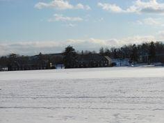 Devens Housing in Winter