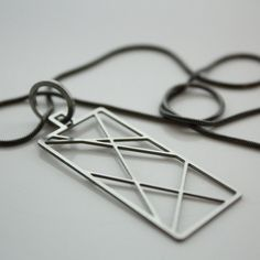 Crossing Wires Necklace, $45, now featured on Fab.