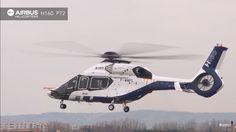 Segundo protótipo do helicóptero H-160 da Airbus voa pela primeira vez
