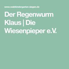 Der Regenwurm Klaus | Die Wiesenpieper e.V.