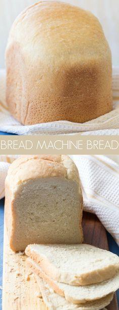 Breadmaker Bread Recipes, Easy Bread Machine Recipes, Best Bread Machine, Bread Maker Recipes, Salt Free Bread Machine Recipe, White Bread Recipe For Bread Machine, Best Sandwich Bread Machine Recipe, Savory Bread Recipe, Brioche Recipe