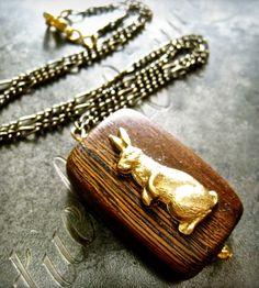 Bunny Rabbit Necklace <3