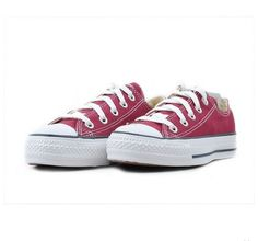 334adbe59155 Cheap converse shoes outlet store Hot selling Flats athletic shoes star  canvas classic shoes Canvas BURGUNDY
