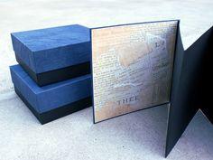 manufaktura koloru - handmade accessories: # 238 - leporello i pudełka
