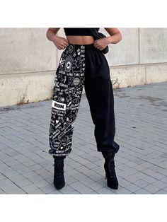 Tomboy Fashion, Teen Fashion Outfits, Mode Outfits, Look Fashion, Streetwear Fashion, New Outfits, Cute Sweatpants, Mode Kpop, Skater Girl Outfits