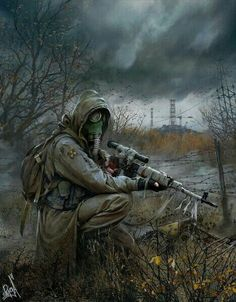 Top 15 best fallout 4 snipers that you should totally check out. These sniper list is too good to pass if you're seriously trying to with a sniper build. Metro 2033, Apocalypse World, Apocalypse Art, Post Apocalyptic Art, Apocalyptic Fashion, Cyberpunk, Larp, Fallout Art, Sci Fi Fantasy