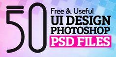 50 Useful UI Design Free PSD Files