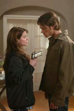 Heart 2.17- Oh my heart breaks everytime I see this picture. Sam looks so young and you can see the heartbreak on his face as Madison hands him the gun.