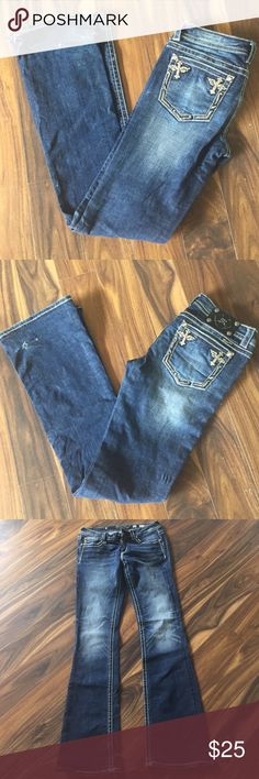 Miss me jeans Boot cut jeans. In used condition Miss Me Jeans Boot Cut