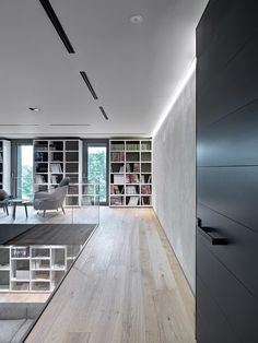 Interior Exterior, Modern Interior, Home Interior Design, Interior Styling, Interior Architecture, Loft Design, House Design, High Ceiling Living Room, Suite Principal