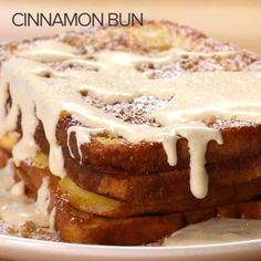 Featuring Strawberry Cheesecake French Toast, S'mores French Toast, Cinnamon Bun French Toast and Mixed Berry French Toast Breakfast Toast, Breakfast Dishes, Breakfast Recipes, Breakfast Ideas, Brunch Ideas, Breakfast Casserole, Strawberry French Toast, Low Carb Vegetarian Recipes, Cooking Recipes