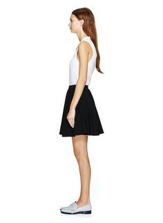 Daimon Jersey Circle Skirt #aritzia #talula in Black