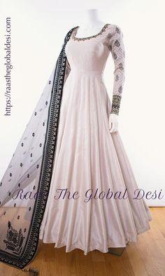 Pakistani Fashion Party Wear, Indian Fashion Dresses, Indian Gowns Dresses, Dress Indian Style, Indian Designer Outfits, Pakistani Dresses, Indian Outfits, Indian Clothes, Indian Wear
