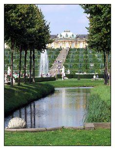 08.09.02.13.51+Potsdam,+Park+Sanssouci,+Schloss+Sanssouci,+Georg+Wenzelslaus+v.+Knobelsdorffs