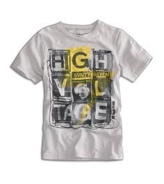 """American Eagle Outfitters 77 Kids """"High Voltage"""" tee"""