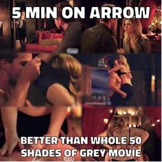 SO MUCH BETTER #Arrow #Olicity