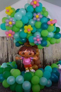 Dora the explorer birthday party decor