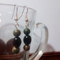 Jasper and Tiger Eye Earrings sold by Birds & Beads. Shop more products from Birds & Beads on Storenvy, the home of independent small businesses all over the world. Tiger Eye Earrings, Pearl Earrings, Drop Earrings, Simple Elegance, Elegant, Jasper, Birds, Natural, Beadwork