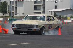 Dan Ballard's cone-killing 1972 Chevy Nova is headed to the 2014 #OUSCI