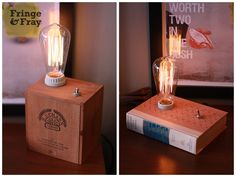 Box light book light