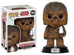 Star Wars: The Last Jedi Chewbacca Pop! Vinyl Bobble Head #195