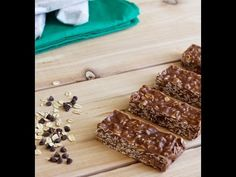 Granola Bars - Dinners, Dishes, and Desserts