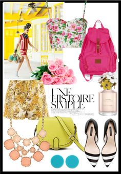 """spring"" by eleni-gr on Polyvore"