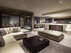 Living space open plan http://www.pinterest.com/fioriettilondon/dinging-tables-living-area/  #home_decor #open_plan