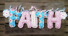Personalised Fabric Name Bunting