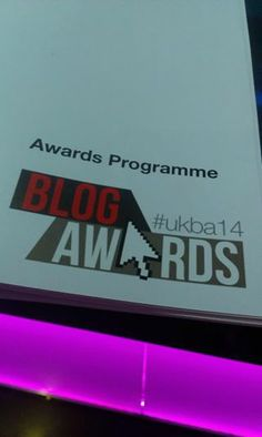 #RT Getting Started at The UK #Bloggers 2014 #Award Grange Hotel #London #UKBA14 #UKBA15