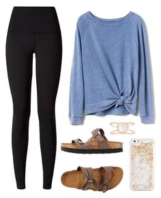 ~~~~~~~~ by classygrace on Polyvore featuring Gap, lululemon, Birkenstock, Luna Skye and ban.do