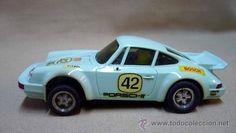 COCHE SLOT CARS SCALEXTRIC, PORSCHE CARRERA RS, REF 4051