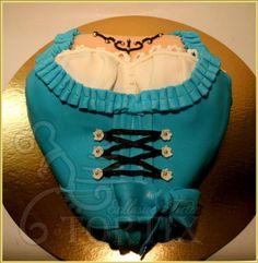 Torte Bayerisches Mädchen in Dirndl