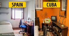 Educational infographic : This is what typical homes from around the world really look like
