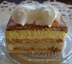 TutiReceptek és szép képek oldala!: Pudingos-grízes vajas kekszes sütemény