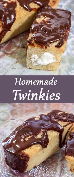 Homemade Twinkies So
