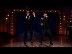 History of rap songs by Jimmy Fallon and Justin Timberlake....