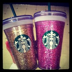 Hey, I found this really awesome Etsy listing at http://www.etsy.com/listing/153555651/starbucks-glitter-cup
