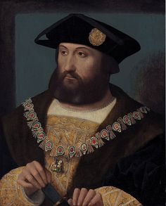 Portrait of Charles Brandon, 1st Duke of Suffolk, wearing the Order of the Garter (c. 1484-1545)     Date  circa 1530