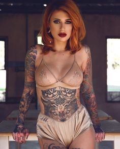 """2,800 Likes, 15 Comments - Tattooed Girls (@tattooed_girls__) on Instagram: """"So HOT Right?! Follow @tattooed_girls__ for more tattooed babes DM FOR FEATURES"""""""