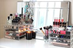 Make Up Collection & Storage: Muji Drawer Tour | I COVET THEE | Bloglovin'