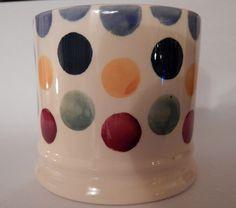 Emma Bridgewater Polka Dot SAMPLE Baby Mug Pottery Cafe, Love You Dad, Emma Bridgewater, Polka Dots, Mugs, Baby, Decor, Ceramic Mugs, Decoration