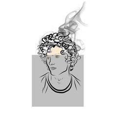 Sometimes my head is smoking too Smoking, Instagram Posts, Art, Art Background, Kunst, Tobacco Smoking, Gcse Art, Smoke, Art Education Resources