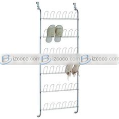 Hanging Wall Shoe Storage Over The Dor Shos Rack