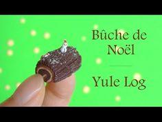 [Stop Motion] Yule Log - Bûche de Noël / Tuto Fimo - YouTube