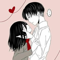 Levi x Mikasa Attack On Titan Ships, Attack On Titan Anime, Kuroko, Levi Titan, Levi Mikasa, Aot Characters, Strong Couples, Rivamika, Anime One