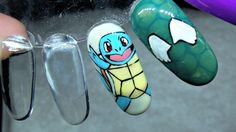 Watch Me Paint | Squirtle | Gel Polish - YouTube