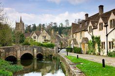 Castle Combe Wiltshire Inglaterra
