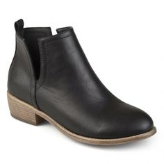 From relaxed to effectively attractive, test on-trend mid-calf footwear with the elite styles and looks you certainly will absolutely adore. #Brownanklebootsoutfit Black Ankle Boots, Black Booties, Leather Booties, Heeled Boots, Bootie Boots, Shoe Boots, Women's Shoes, Women's Booties, Block Heel Boots